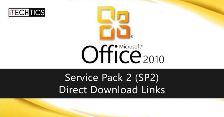 Office 2010 Service Pack 2 SP2 Direct Download Links