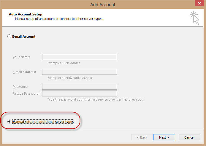 Configure Outlook com Email Accounts With IMAP Protocol