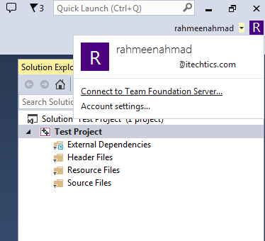 Team foundation server in Visual Studio 2013