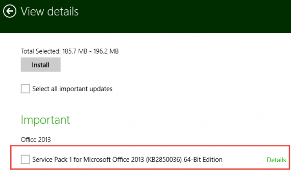 Office-2013-SP1-from-Windows-Update