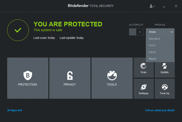 Bitdefender Total Security 15