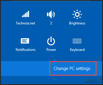 Metered Connection - Change PC Settings