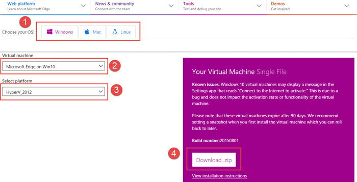 How To Run Microsoft Edge Browser On Windows 8.1 And Windows 7 2