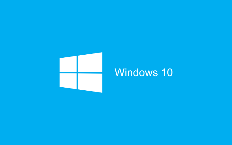Wallpaper Windows 10 HD Blue