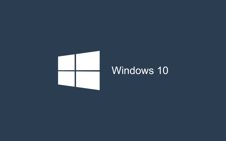 Wallpaper Windows 10 Dark Blue