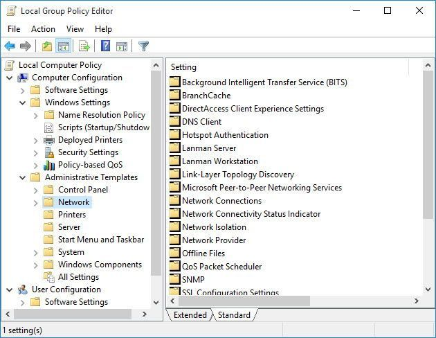 Group Policy Editor (GPEdit.msc)