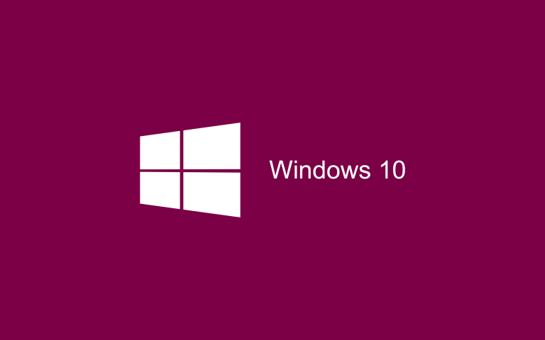 Wallpaper Windows 10 HD Magenta Pink