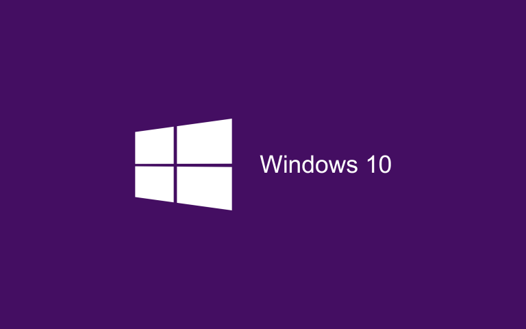 Wallpaper Windows 10 HD Purple