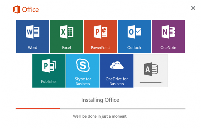 office 365 install offline 2016