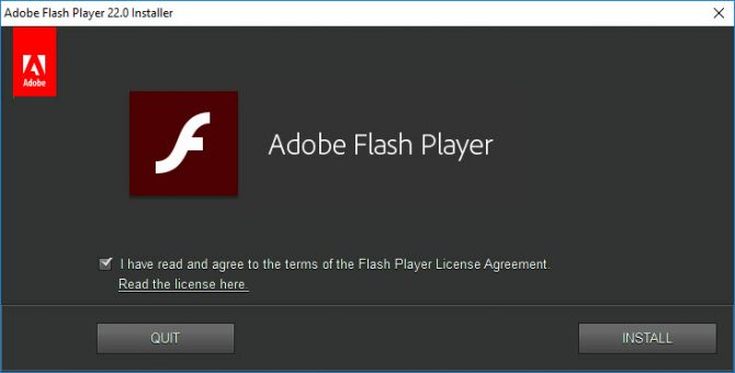 adobe flash player distribution