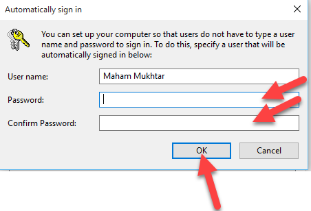 How To Login Without Password in Windows 10 4