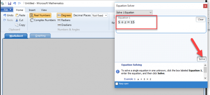 3 Tools To Write Math Expressions in Windows 10 6