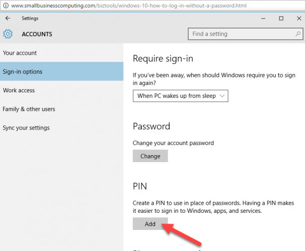 How To Login Without Password in Windows 10 8