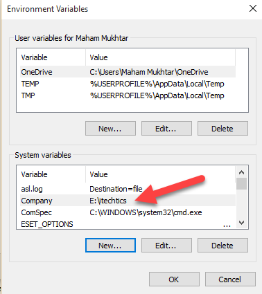 How To Create Custom Environment Variables in Windows 10 6