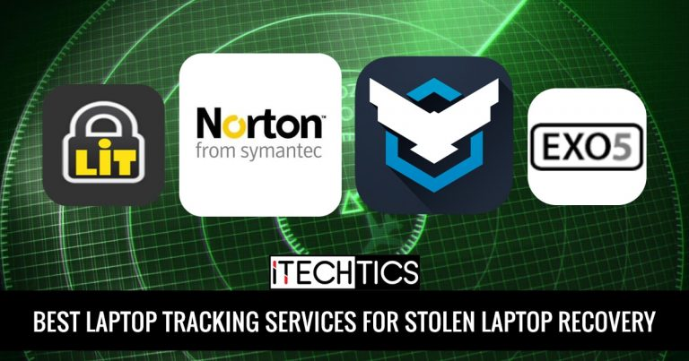 Best Laptop Tracking Services For Stolen Laptop Recovery