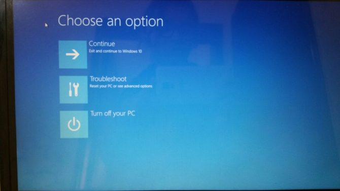 How to Enter Safe Mode Directly When Windows 10 Fails to Boot 2