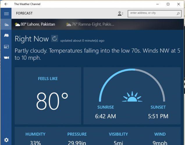 6 best weather forecast apps for windows 10