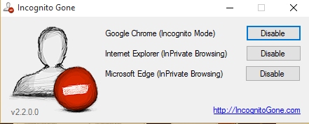 How to Enable or Disable In-Private Browsing in all Browsers 9