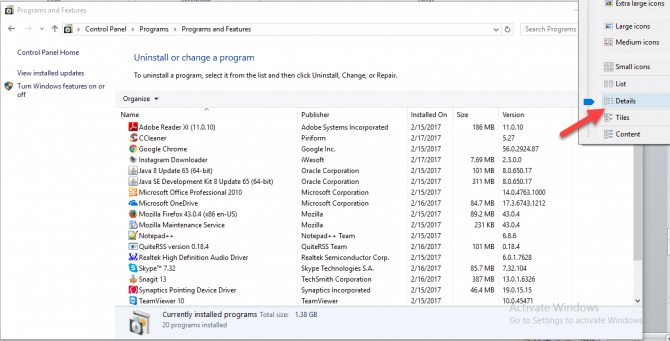 4 Ways to Get List of Installed Programs For Backup in Windows 10 8