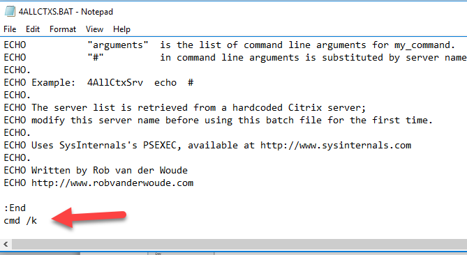3 Ways To Prevent Command Prompt From Closing After Running Commands (Batch File Pause) 2