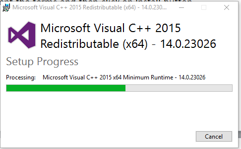 Download Microsoft Visual C++ Redistributable (All Versions)