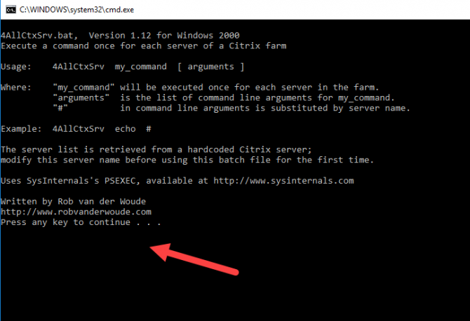 3 Ways To Prevent Command Prompt From Closing After Running Commands (Batch File Pause) 6