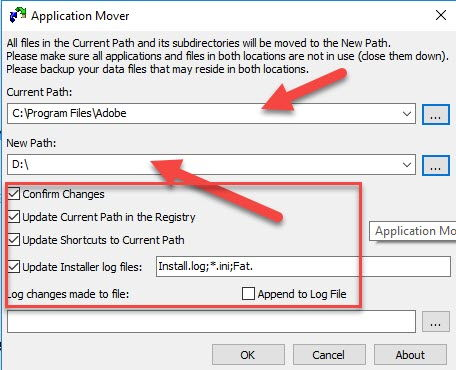 3 Ways to Move Installed Programs to Another Location in Windows 10 20