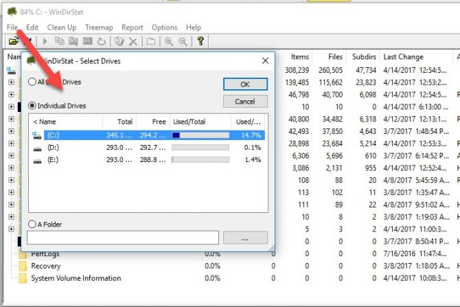 15 Tools to Visualize the File System Usage on Windows 3