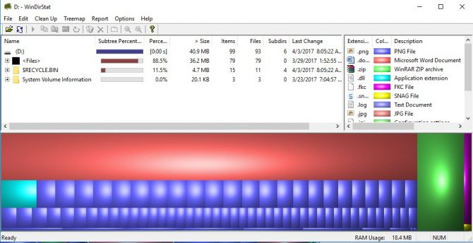 15 Tools to Visualize the File System Usage on Windows 2