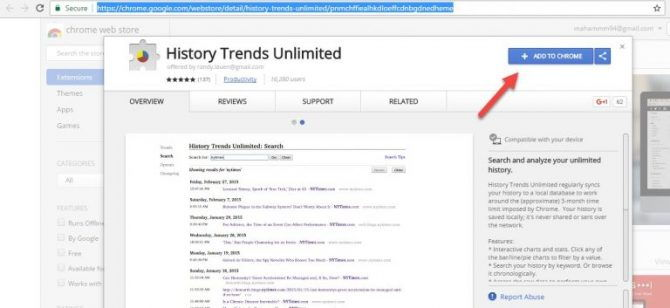 2 Ways to Keep Google Chrome History Forever 4