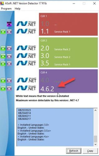 Download .NET Version Detector With .NET Framework 4.7 Support 2