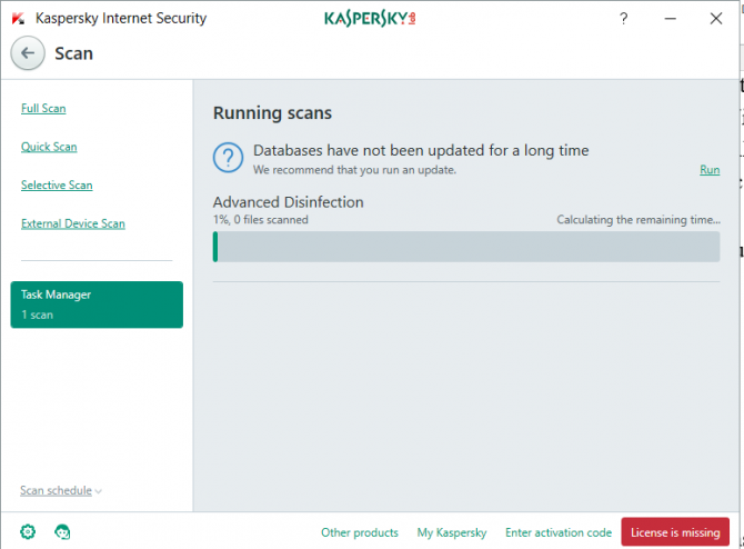 kaspersky total security 2018 francais offline