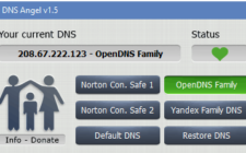 Enable Family Protection In Windows 10 Using DNS Angel