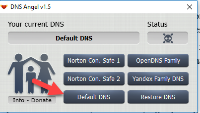 Enable Family Protection In Windows 10 Using DNS Angel 5