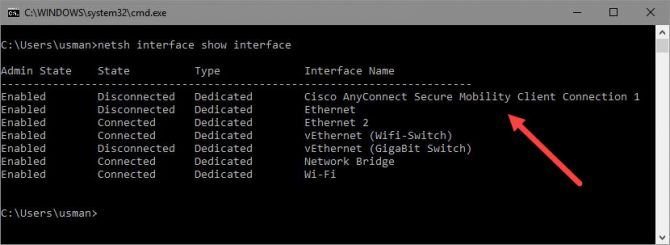 Check VPN Connection Status From Command Line In Windows 1