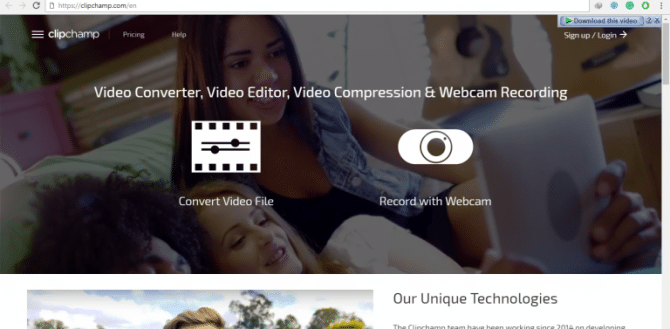 ClipChamp Online Video Editor