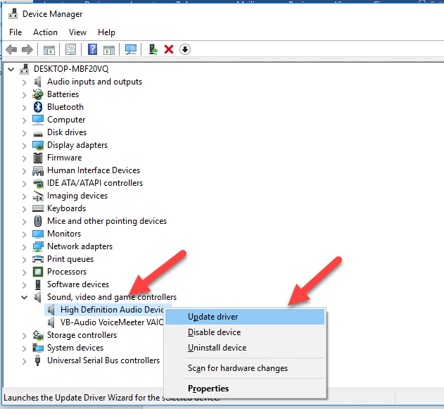 Fix: Laptop High Pitched Sound Problem Through The Speakers And Headphones 10