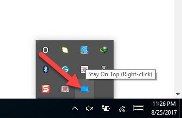 "10 Tools To ""Always On Top"" Any App In Windows 10 7"