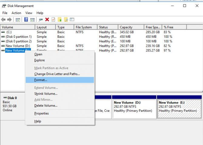 5 Free Tools To Format A Hard Drive (OR A USB Drive) Easily 1