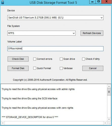 5 Free Tools To Format A Hard Drive (OR A USB Drive) Easily
