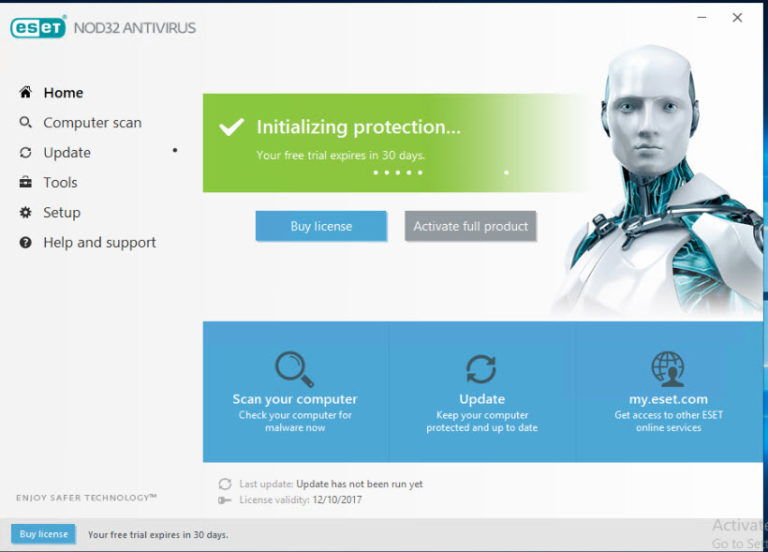 nod32 10 activation key 2018