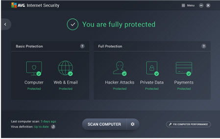 Download AVG 2019 Free Antivirus + Internet Security + Ultimate 6