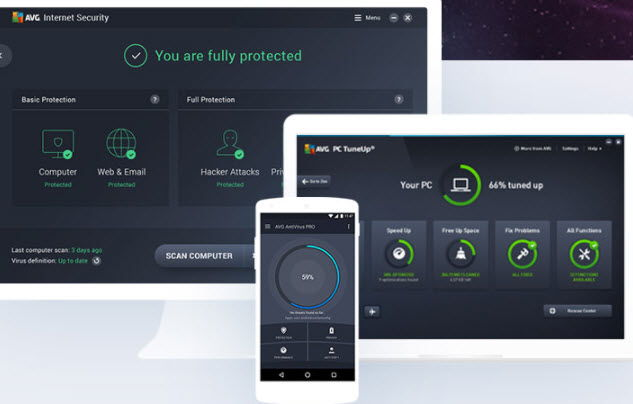 Download AVG 2019 Free Antivirus + Internet Security + Ultimate 4
