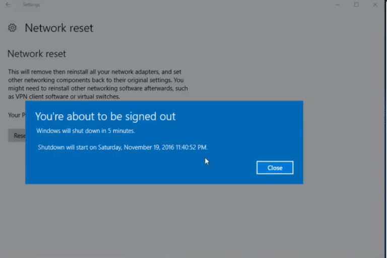 How To Reset Network Settings In Windows 10 9