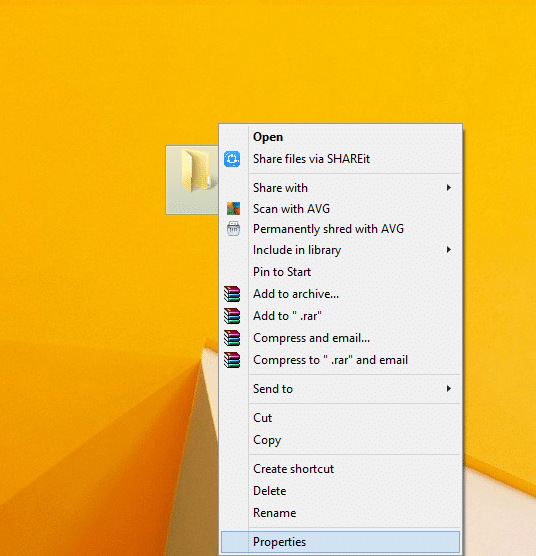 How To Create an Invisible Folder In Windows 10 3