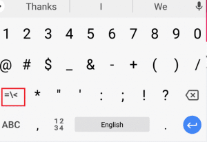 How To Insert Degree Symbol In Windows, Mac, Android And iOS 10
