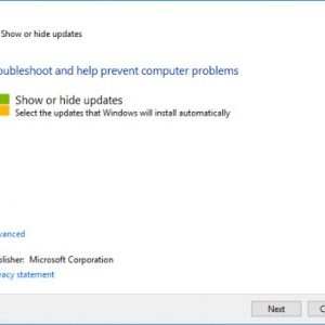 How To Stop A Specific Update From Installing In Windows 10