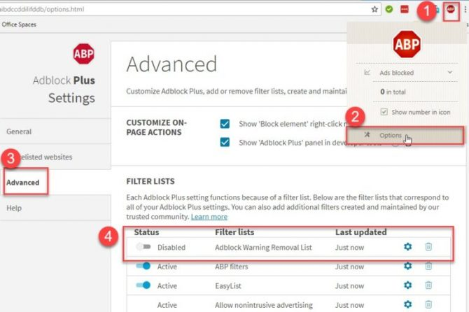 What is Adblock Warning Removal List And How To Add It In