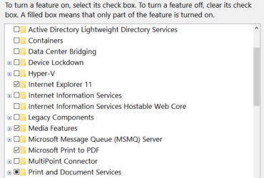 4 Ways To Enable/Disable Optional Windows Features 3