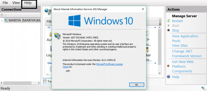5 Ways To Check Installed Version of IIS in Windows